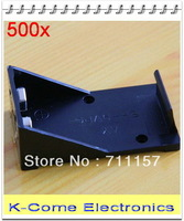Hold One 9v Battery Box Holder Cell Case With Lead / Wire Free Shipping