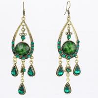 Vintage earring Bohemian national wind personality tassels retro fine earring jewelry LM_ E173 FREE SHIPPING