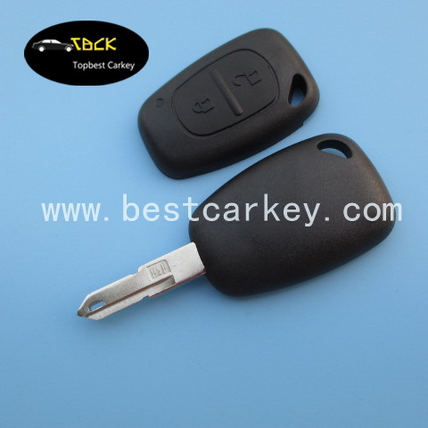 Good price 2 buttons car remote key shell remote car key shell for Renault key(China (Mainland))