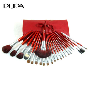2012 day gift pupa24 pure animal wool cosmetic brush set(China (Mainland))