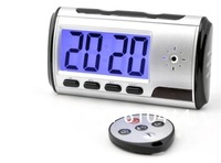 Free shipping camera clock with Remote Control and Motion Detection