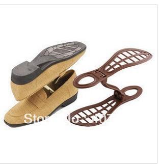 free shipping Fashion shoe save Plastic Shoe Storage holder rack shelf storage novelty simple shoe racks dropship