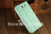 New arrival Emperor.Hous women style dustproof leather case for Samsung galaxy note 2 N7100 with five colors free shipping