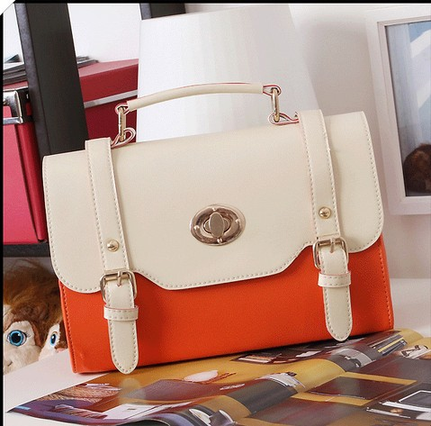 New arrival lady handbag, leather shoulderbag woman, free shipping,1pce wholesale.(China (Mainland))