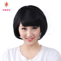 Free shiping Bond Bond Wig Fashion Short Bobo Wig Women Human Hair Wig