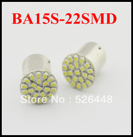 20pcs/lot in stock,Car led lamp 1157 BAY15D 22 LEDS 22SMD Leds light 3020 SMD turn signal reverse light Free shipping.