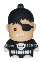 New sitting punisher shape usb flash disk drive 2GB 4GB 8GB usb gift accept mix order