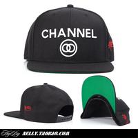 Ssur hiphop cap channel baseball cap flat hat snapback hat wool