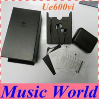 New Logitech Ultimate Ears 600vi UE 600vi UE600vi Headset Earphones For iPhone 5/4S/4/3Gs Dropship Freeshipping