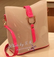 2014 new style women's fashion handbag shoulder bag candy colour ladies hot selling bag free shipping