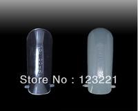 Free shipping ,factory directly wholesale 120pcs/set dual nail system form UV gel acrylic nail art tips supplies.