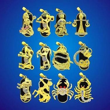 Free shipping!12pcs/lot Constellations Jewellery USB Flash drive(China (Mainland))