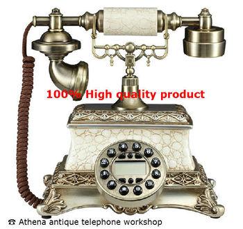 Resin Unique Corded Telefono Phone / Landline Phones for Vintage Home