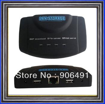 652 TYPE 10 PCS A LOT  RJ-45 USB Network Lan Storage Nas Ftp Samba Print Server BT CLIENT FTP server STANDERD SHIPPING