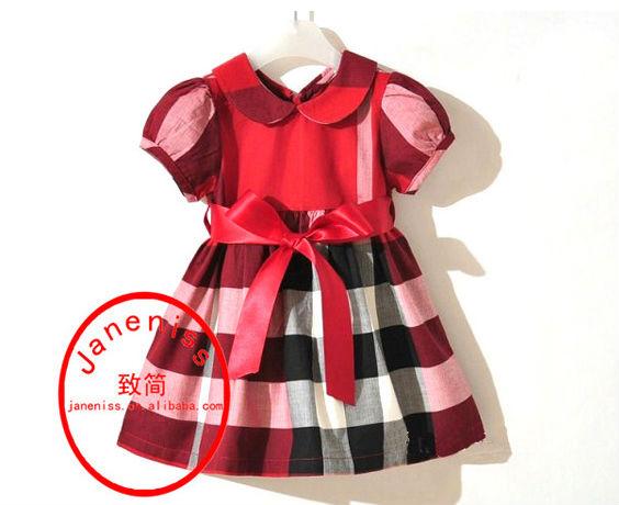 Free Shipping Summer 5pcs 100%cotton Retail wholesale Infant/Baby Girls Brand Polo Dress Children/Kids Princess tennis Dresses(China (Mainland))