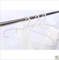 FREE shipping plastic pearl hanger clothes hanger hanging racks slip-resistant multifunctional bodysuit drying rack
