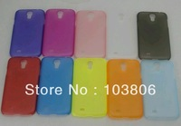clear matte  case cover 0.5mm ultra thin crystal case MIX COLORS for Samsung Galaxy S4 SIV i9500