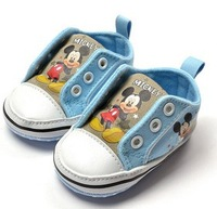 free shipping  baby girl's /boys shoes first walk shoes girls boys shoes soft sole shoes 6 pair/ each desigen