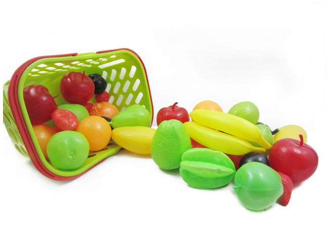 Fruit car toy fruit basket toy toys(China (Mainland))