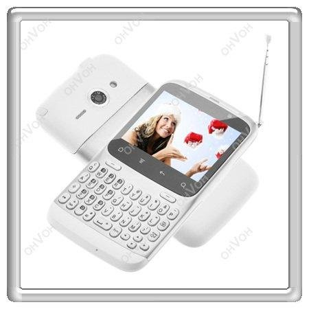 K5Q 2.3 Android TV WIFI Unlocked Dual Sim Qwerty Touch Screen Mobile Cell Phone(China (Mainland))