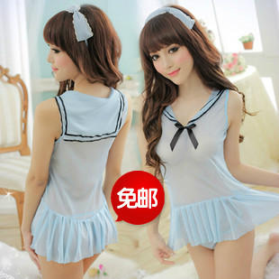 Ds costume role playing the uniform temptation classic sexy school wear 3896(China (Mainland))