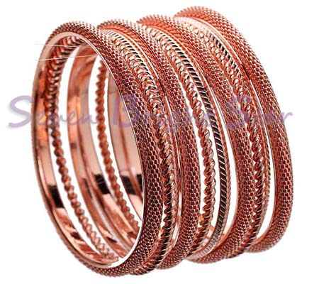 Free Shipping! 2013 new fashion hot selling bracelets/ copper bangles with 4 Circle bracelets+6 rope Chain bangles/Factory price(China (Mainland))