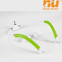 NU Dolphin2.0 Lite waterproof sports swimming Stereo MP3 earhook headphone High Quality in-ear earphone Free Shipping