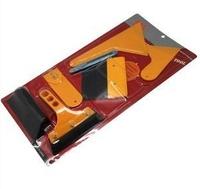 High Quality!Car Body Wrapping Sticker Installation Auxiliary tools Scraper set,Automotive Scraper Set, 7pcs Set