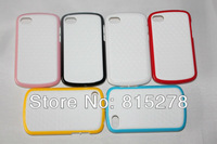 High quality Stereo Veins design WHITE BACK SERIES PC+TPU case for BlackBerry Q10 DHL Free shipping 50pcs/lot