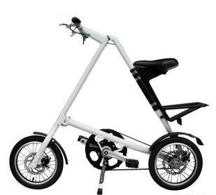 cheapest,strida new Folding bicycle / complete Bike Disc Brake / belt Bicycle/ mini folding bike, belt drive(China (Mainland))