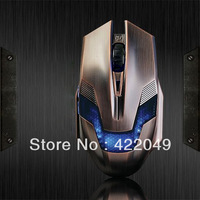 Free Shipping A-jazz Green Hornet Gaming Mouse 2000DPI 3X adjustable F-S011