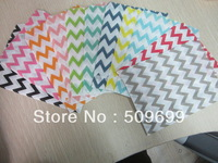 700pcs Cookie Bags ,food packaging, baking bag Anti-oil with 30 different color//Chevrons ,polka Dots, strips
