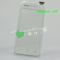 wholesale!Touch Screen Digitizer/Replacement for Bedove x12  touch panel,white,Original New