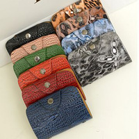 2013 bags fashion magnetic 24 place card holder leather case card bag bank card bag