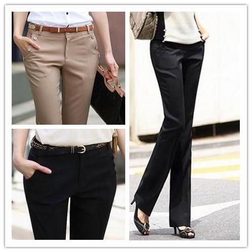 pantalones casuales de mujer   imagui