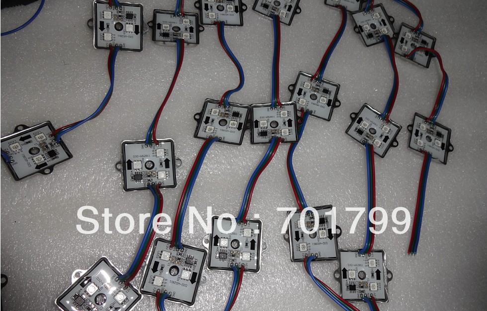 20pcs 12V WS2811 LED pixel module,0.72W;IP68(China (Mainland))
