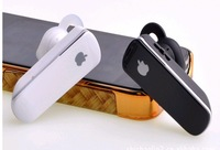 New Bluetooth Headset f variety of mobile phones , such as black and white free shipping