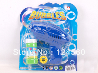 Inertial space bubble gun, toy guns, blowing bubbles toys, summer toys wholesale(China (Mainland))