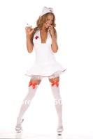 Free Shipping Hot Sexy Female Costumes Nurse Cosplay Costume Sexy Nurse Costume