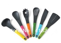 6pc/set nson-stick turner spoon set  silicone kitchen tool cooking tool set