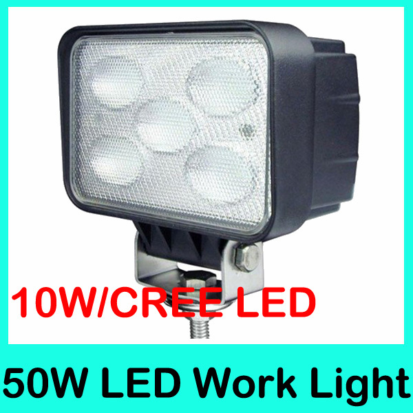 DHL Free Shipping 2012 New Arrival USA Cree LED 50W 4500LM 9-30V 50W tractor offroad LED work light,Driving lamp,Fog light kit(China (Mainland))