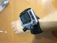 Consumer Wrist Housing For Gopro hero 2 or hero 3, 3D Printing Wristbands