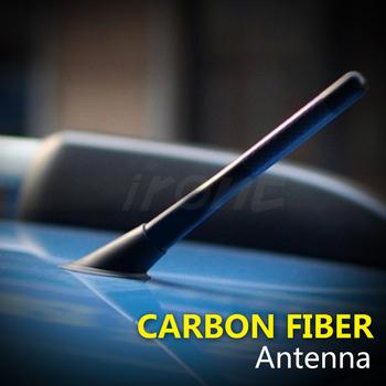 "Carbon Fiber Aerial Screw Type 4.7"" Short Antenna For  F-Series 150 250 350"