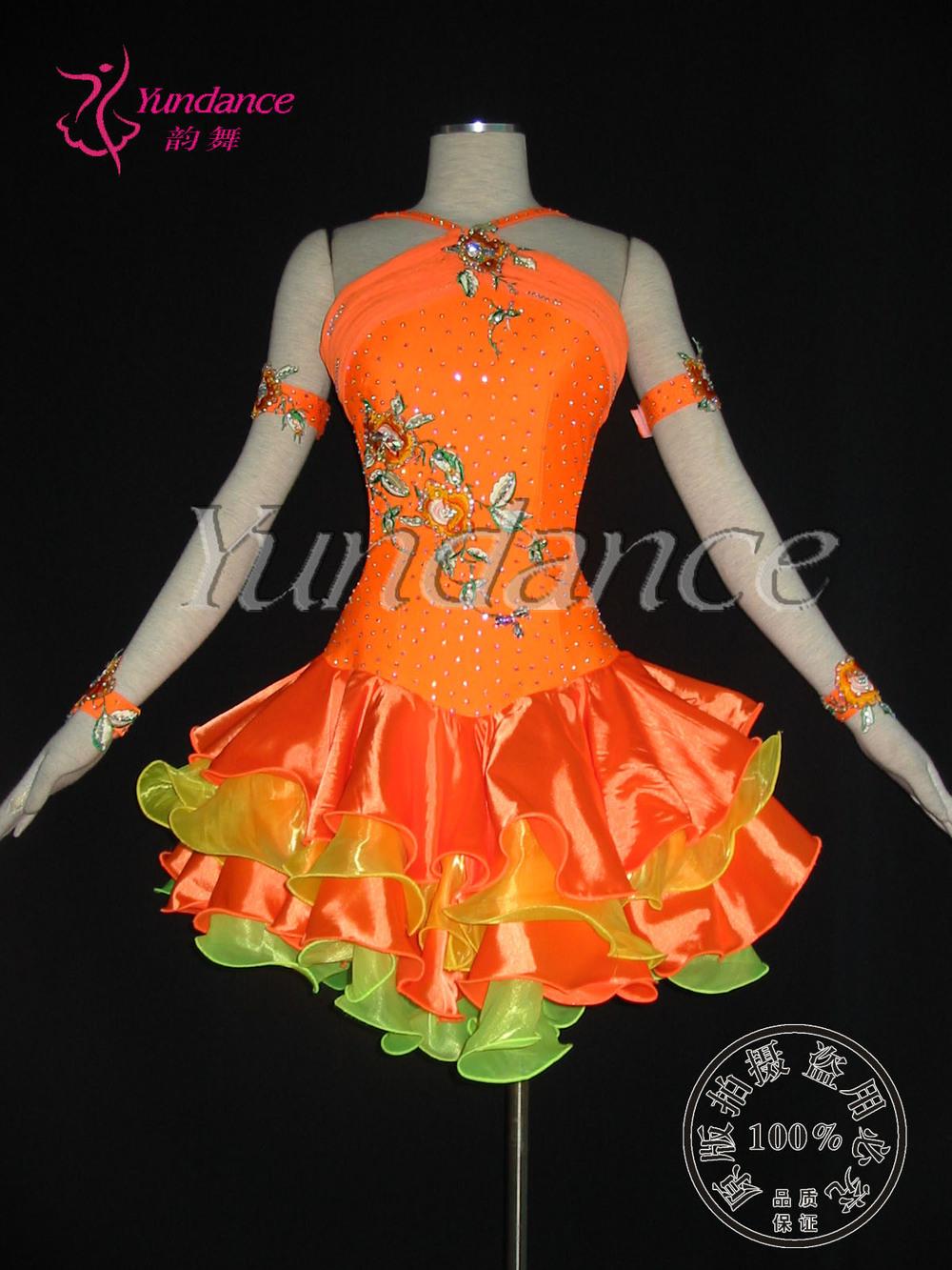 Как сшить платье для бальных танцев юниор