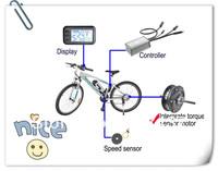 24v Electric Bike Conversion Kits(Meter+Controller+Motor+Torque sensor+Speed Sensor)
