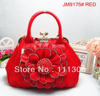2013 New Fashion Brand Design Women Noble Cosmetic Bag Handbag Tote Clutch bag Shoulder Bag,FREE Shipping