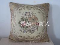 Fashion modern rustic gold coins cushion pillow lumbar select  45cm x 45cm