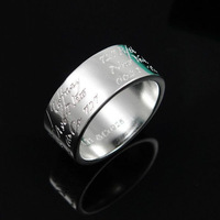 Free Shipping Low Price Sterling Silver 925 Ring Special Log Ring Wholesale Fashion Jewelry  Nickle Free Antiallergic FSR050
