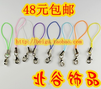 Diy accessories mobile phone strap mobile phone chain belt lobster clasp