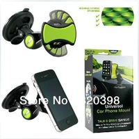 Car Phone Mount GPS Holder Short-Arm Hand Free Driving Helper GripGo Mobile Stand Mobile Phone Holder 20130528